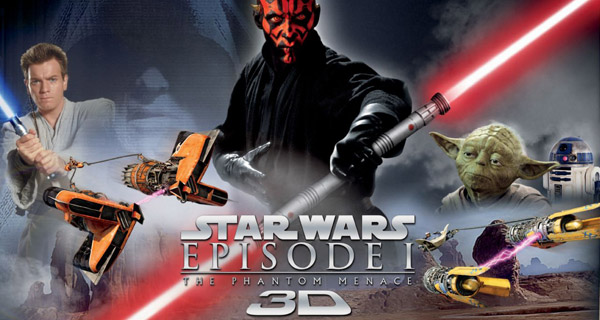 Star Wars Episode I: The Phantom Manace 3D