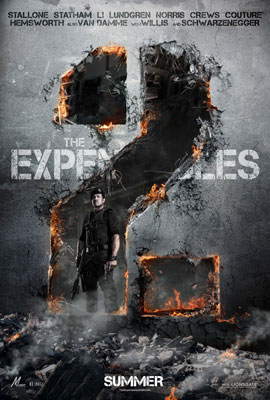 The Expendables 2 - Poster 1