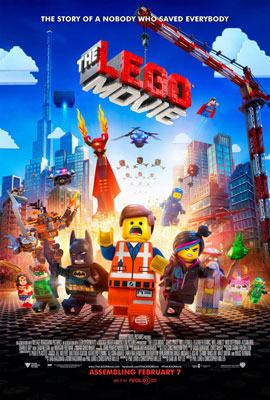 Poster The Lego Movie แบบที่ 1