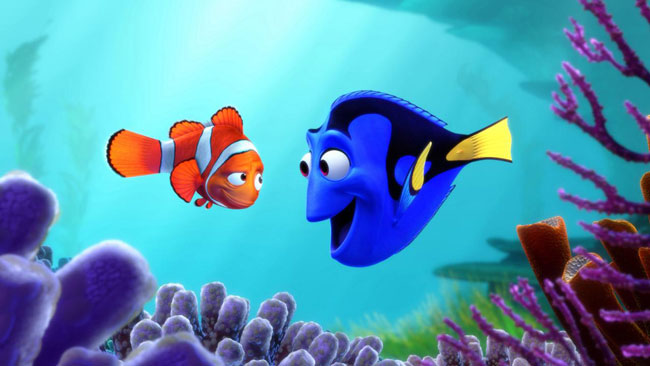 'Finding Dory' Animation from Pixar