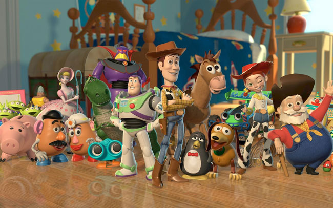 Toy Story: Disney Pixar animation