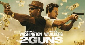 2 Guns เป็นการรวมตัวกันของ Denzel Washington พระเอกผิวหมึกและ Mark Wahlberg พระเอกที่รับงานหลากแนว สร้างทั้งความมัน ความโหด และความกวน