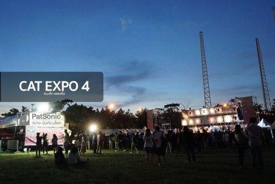 CAT EXPO 4 คนเล็กเพลงโต