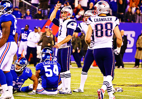 Best Patriots Game of 2015