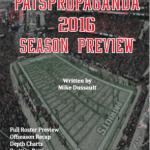 PatsPropaganda 2016 Patriots Season Preview Book