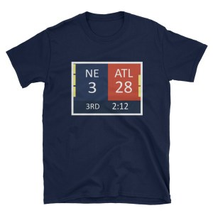 A brief history of patriots influenced nfl rule changes patspropaganda 28 3 34 28 final on back t shirt malvernweather Gallery