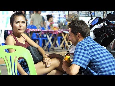 Pattaya Beach Road Night Scenes