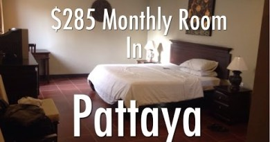 My $19 A Night Or $285 A Month Room In Pattaya, Thailand – R-Con Residence