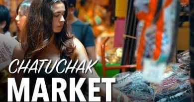 WORLDS BIGGEST MARKET – Chatuchak Weekend Market, Bangkok Thailand
