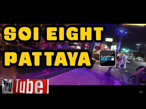 Soi 8 Nightlife Pattaya Thailand 2014 November 14th