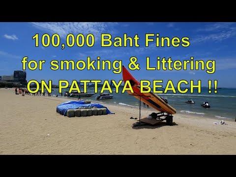 Pattaya Beach Renovation and 100,000 Baht Fines ! Vlog 333