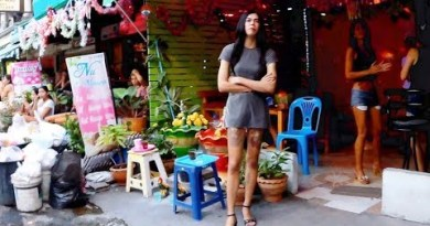 Rub down Avenue or Soi Pothole – Pattaya Thailand