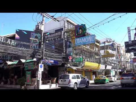 Walking Facet freeway Pattaya, Thailand – Earlier than the Sun Goes Down