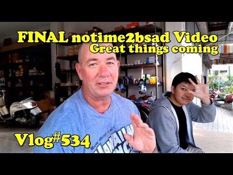 Closing notime2bsad video 2018, big issues coming.
