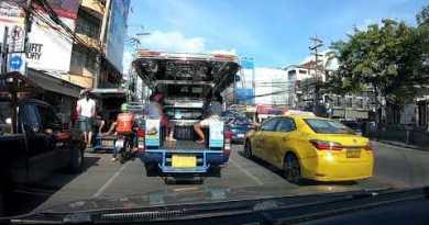 Pattaya – Using the central streets of Pattaya – Thailand
