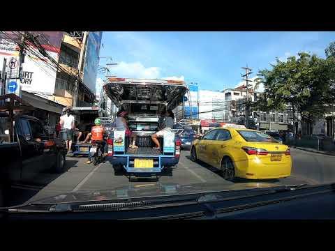 Pattaya – Using the central streets of Pattaya  – Thailand