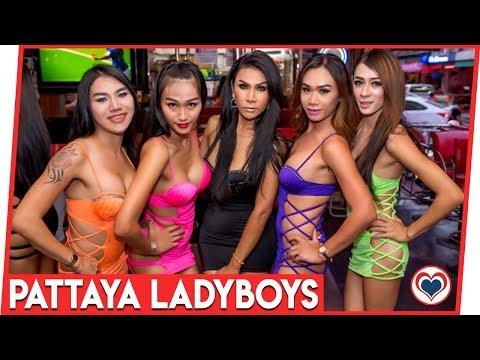 Ladyboy Bars & Agogo Pattaya Walking Freeway Soi 6 Thailand