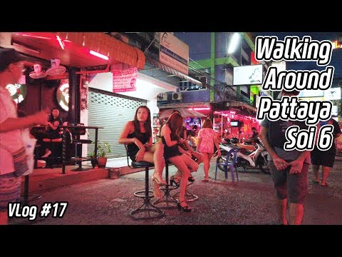 Pattaya Soi 6 Stroll – Many Ladies folk Waiting For Customers