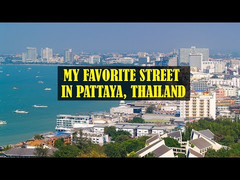 My Popular Boulevard in Pattaya Thailand 2019