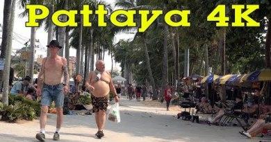 Pattaya Thailand 4K.  Metropolis, Sights & Other folks