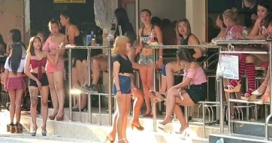 Ladies and Beer Bars in Soi 6 Pattaya Thailand