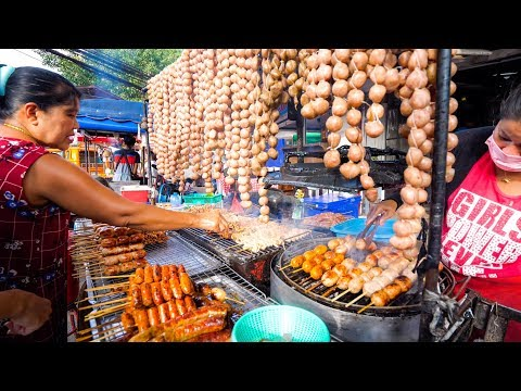 Avenue Meals in Thailand – NIGHT MARKET Thai Meals in Chiang Mai, Thailand!