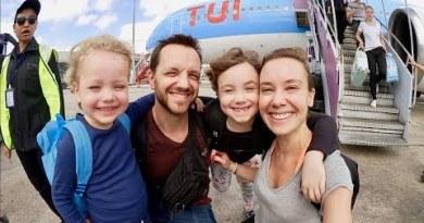 Familjen reser till Thailand VLOGG