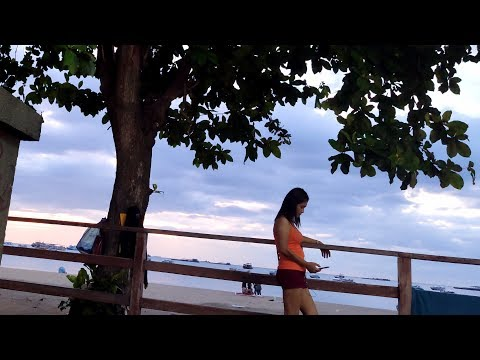 (4K)Beach Road Girls,Pattaya Beach Road,2019 June