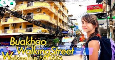 Stroll from soi Buakhao to Strolling Avenue / Pattaya