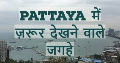 Areas to cross to in Pattaya || Thailand tour