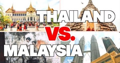THAILAND VS. MALAYSIA // Which one is the most attention-grabbing?!