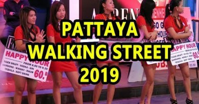 Pattaya Walking Facet road – 2019 (Most contemporary Video)