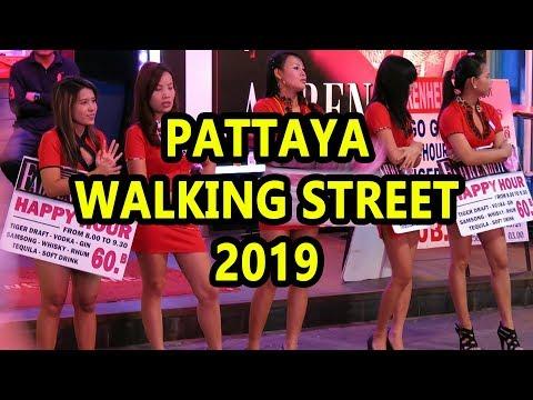 Pattaya Walking Facet road – 2019 (Most contemporary Video)