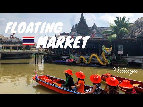 PATTAYA THAILAND DAY 3: Floating Market & Jomtien Seaside
