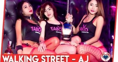 Aj Hits Strolling Avenue Pattaya ft: Taboo, Glass Dwelling Agogo & Mixx Club by Love Pattaya Thailand
