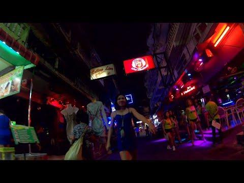 PATTAYA NEW PLAZA BEER BARS, SOI 8 & SOI 7 NIGHTLIFE 2019, PATTAYA THAILAND