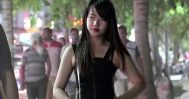 Pattaya Walking Avenue and Coastline Avenue Scenes