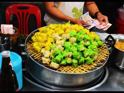 Thai Street Food 2019 – Street Food in Thailand – Bangkok Street Food