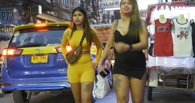 Nightlife in strolling street pattaya