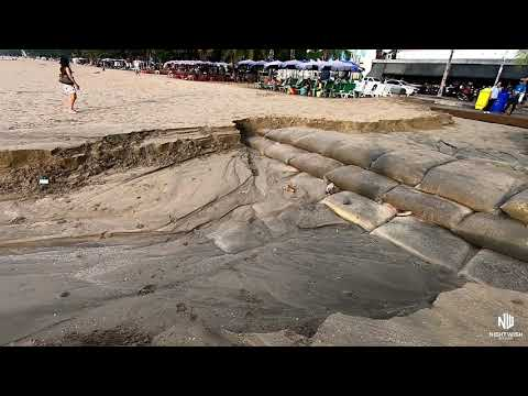 Pattaya Sea race washed away for the third time this 365 days
