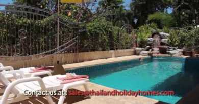 Pattaya Villa Rentals – Baan Phailin – 4 Bedroom