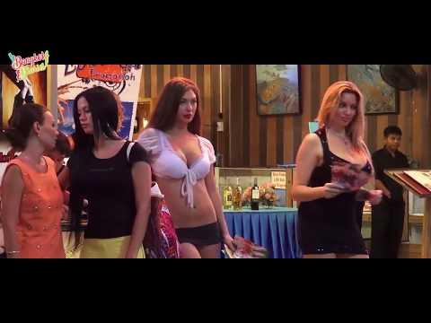 Russian Girls at strolling road Pattaya Thailand | Bangkok
