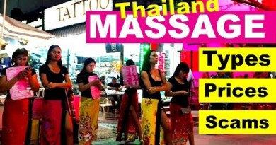 Massage kinds and costs in Thailand & scams to steal away from #livelovethailand