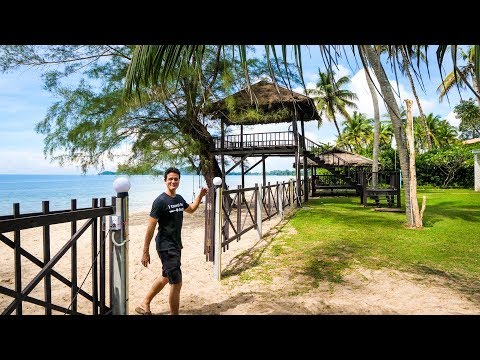 Thailand Seaside Dwelling Tour –  FAMILY VACATION in Rayong, Thailand!