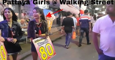 Walking Avenue Pattaya – 1 AM Saturday – Pattaya Nightlife