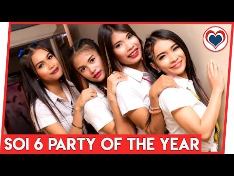 Soi 6 Birthday party Of The Year 2018 by Love Pattaya Thailand