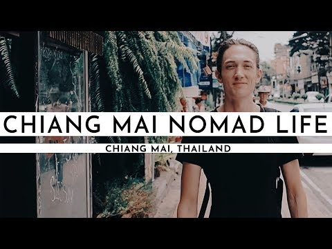 GREAT CAFÉS TO WORK FROM IN CHIANG MAI | DIGITAL NOMAD IN THAILAND | TRAVEL VLOG #26