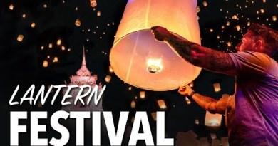 LANTERN FESTIVAL IN CHIANG MAI THAILAND – Yi Peng Lantern Competition
