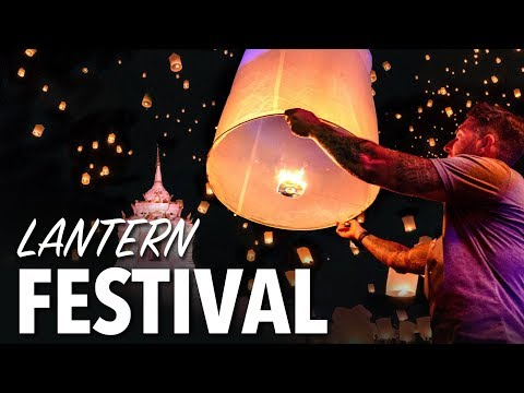LANTERN FESTIVAL IN CHIANG MAI THAILAND – Yi Peng Lantern Competition