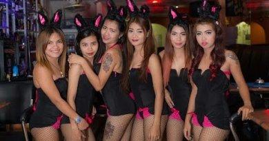 Pattaya Soi Intercourse Stir Round at Night, Horny Girls Nightlife Compilation
